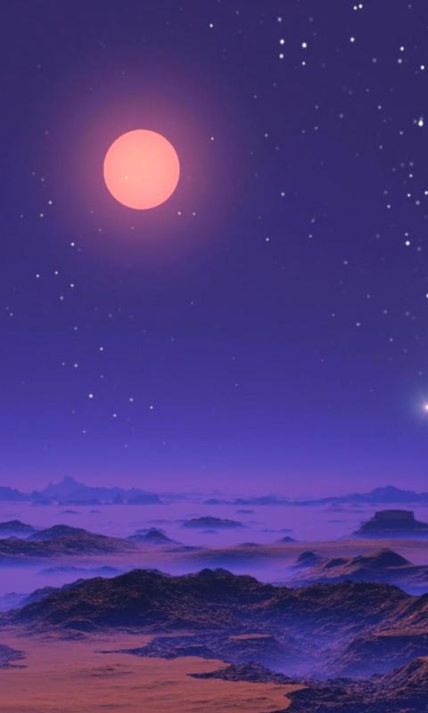 中秋之夜赏月图片