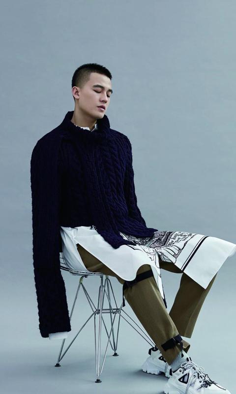 欧豪时尚型男帅气写真