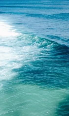 夏日清爽优美大海自然风景