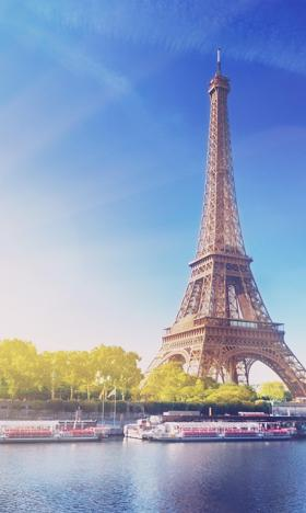 浪漫迷人的巴黎埃菲尔铁塔高清手机壁纸