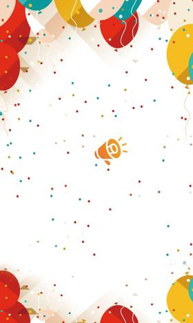庆祝开学季手机壁纸图片下载