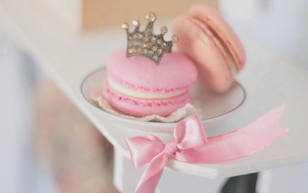 桌面壁纸马卡龙蛋糕高清图片