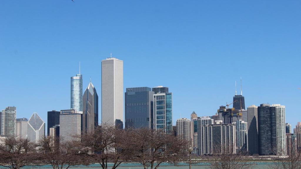 芝加哥高清建筑壁纸