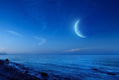 月夜下唯美风景电脑桌面壁纸
