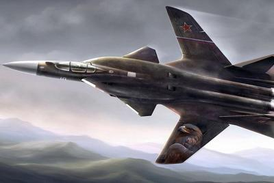 苏47金雕式战斗机高清壁纸