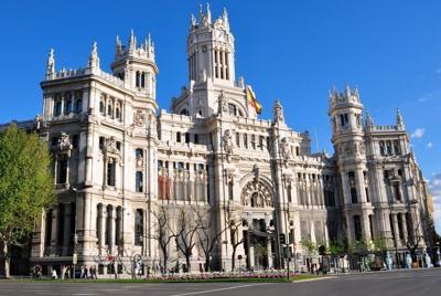 西班牙马德里风景高清建筑壁纸