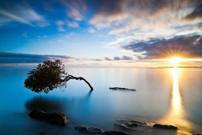 高清大海唯美风景电脑壁纸