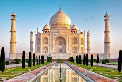 印度泰姬陵高清壁纸大图