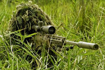 军事狙击手电脑壁纸高清图片大全