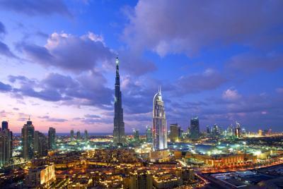 高清城市唯美夜景壁纸大图