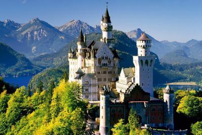 德国新天鹅城堡高清壁纸图片