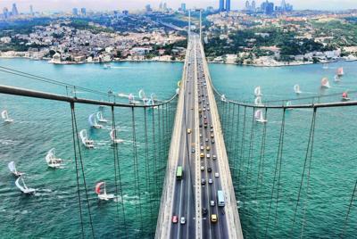 土耳其伊斯坦布尔建筑风光桌面壁纸