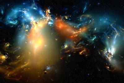 炫丽的宇宙玄幻壁纸下载