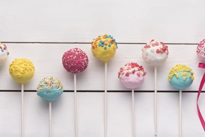 好吃好看的棒棒糖图片