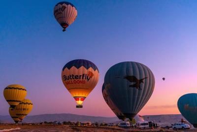 唯美热气球高清图片壁纸