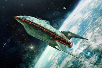 太空飞船壁纸图片