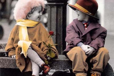 美好的快乐童年图片