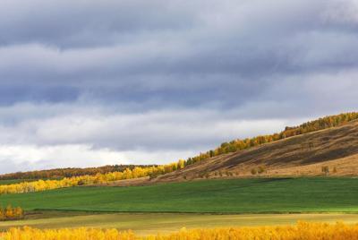 草原秋天的唯美意境图片壁纸下载