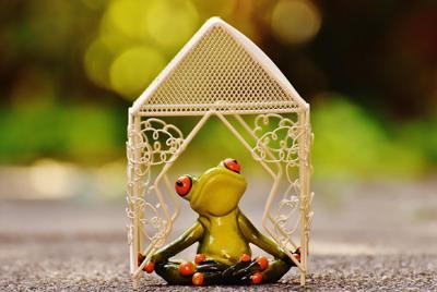 可爱的玩具青蛙图片