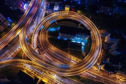 城市夜景图片真实图片唯美高清壁纸下载