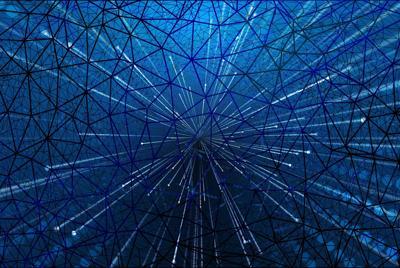 1193D网状结构壁纸