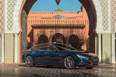 2020款玛莎拉蒂总裁Quattroporte S Q4 GranLusso Royale壁纸