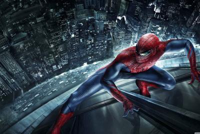 精美《蜘蛛侠》超级英雄飞檐走壁电脑桌面壁纸