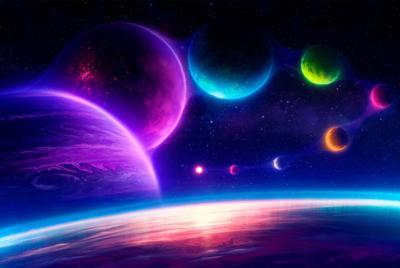 精美彩色星球电脑桌面壁纸