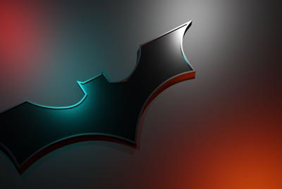 蝙蝠侠标志背景图