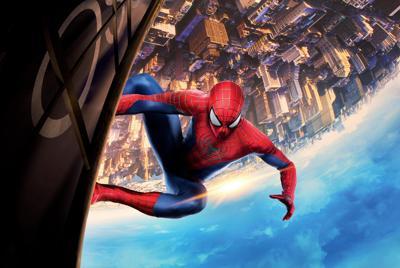 高清《蜘蛛侠》城市全景 电脑壁纸图片下载