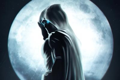 好看的月光骑士背景图