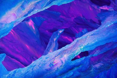 一加5T内置蓝色抽象背景壁纸图片