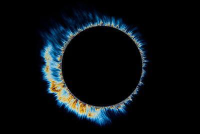 抖音最火背景图片 iMac Pro日食图片壁纸