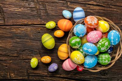 高清无水印复活节彩蛋壁纸图片