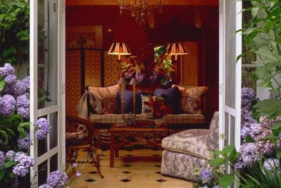 高雅个性的室内装饰壁纸图片