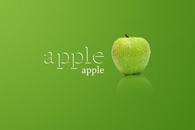 青苹果护眼壁纸