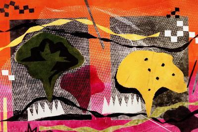 抽象的绘画宽屏壁纸
